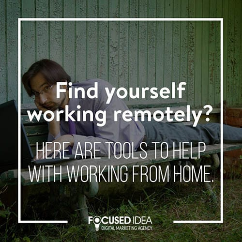 Tools for working remotely