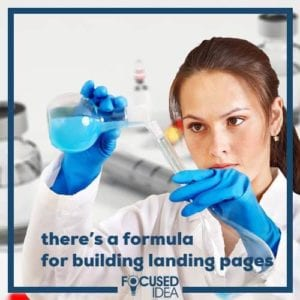 There's a formula to building a high converting landing page