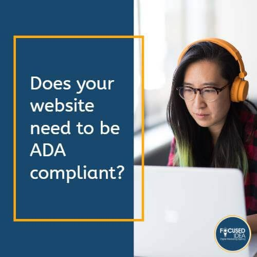 Does your website need to be ADA compliant?
